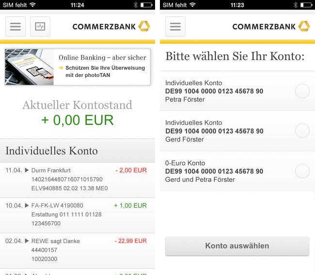 Commerzbanking Screen 2