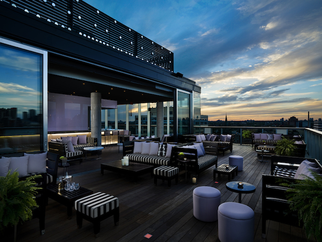 Thompson Lounge Rooftop Terrasse