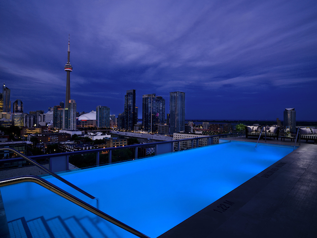Thompson Lounge Rooftop Pool