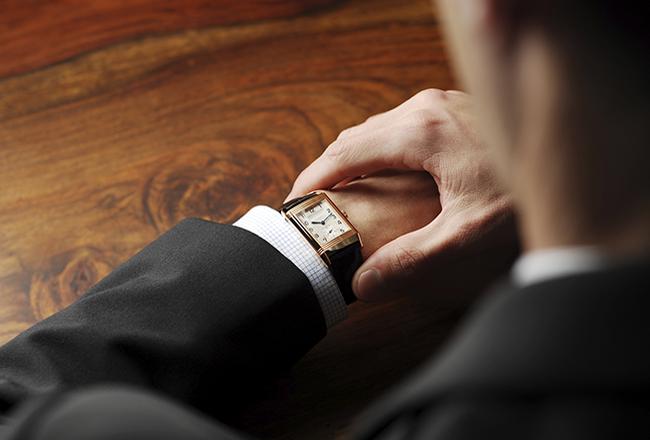 Armbanduhr Anzug