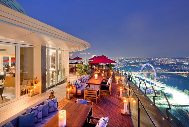 Ku De Ta - Singapore - Terrasse