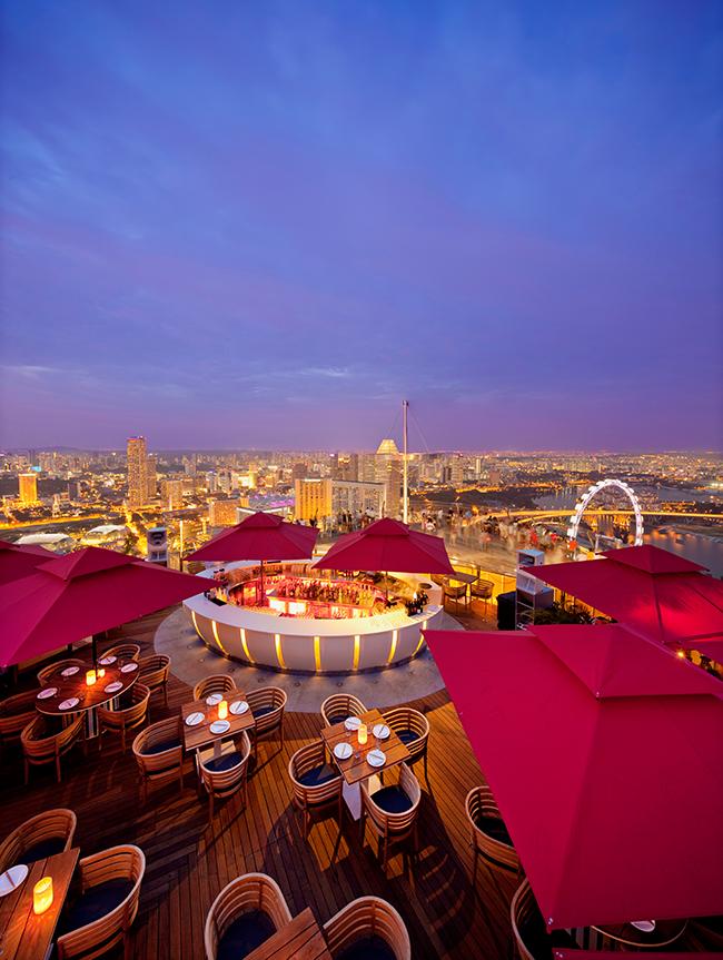 Ku De Ta Singapur - Terrasse 2