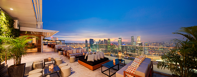 Ku De Ta Singapur - Terrasse 4