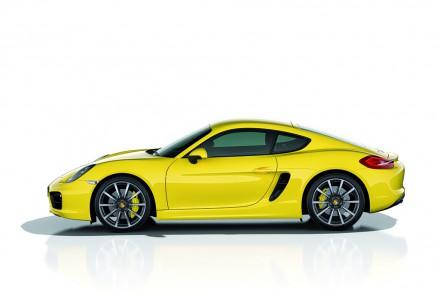 Porsche Cayman S - Fahrerseite