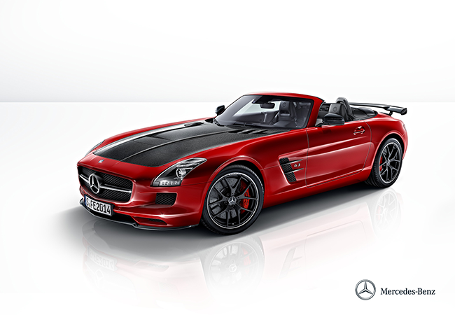 SLS AMG Sideview