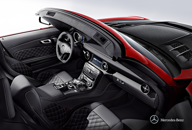 Mercedes-Benz SLS AMG: Reminiszenz an die 50er › The Modern Gentleman