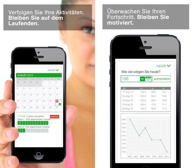 App, um Aktivitäten auf dem iPhone zu verfolgen