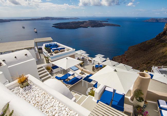 Iconic Hotel Santorini - Ausblick