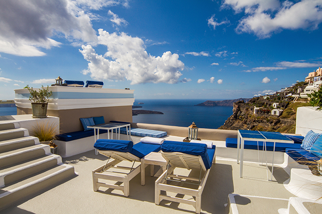 Iconic Hotel Santorini - Grotto Suite Terrasse