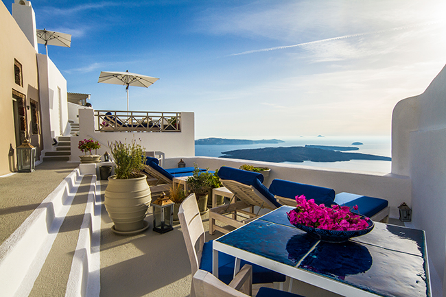 Iconic Hotel Santorini - Terrasse