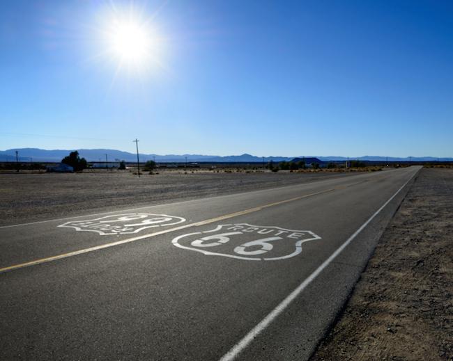Auffahrt Route 66