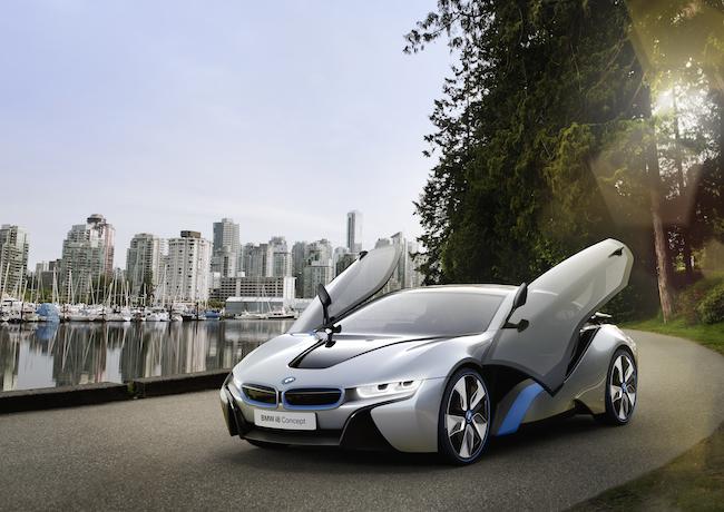 BMW i8 Concept - View 1