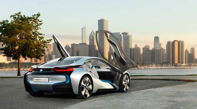 BMW i8 Concept - View 4