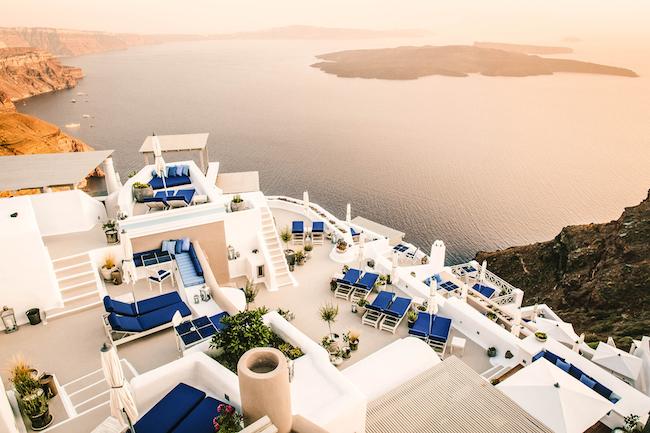 Hotel Iconic Santorini - Ausblick