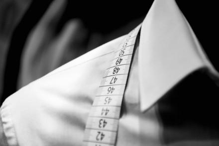 Herrenhemd Größentabelle - Größe richtig messen
