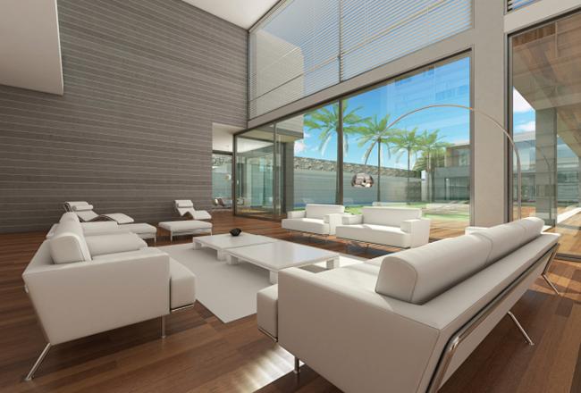 Moderner einrichtungsstil gepr gt von vielen technischen for Wohndesign 2014