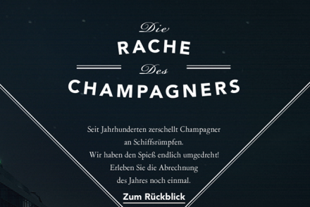 Rache des Champagners
