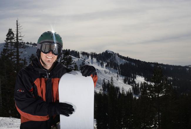 Snowboard Männer