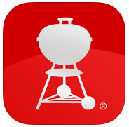 Weber's on the Grill - iPhone App Icon