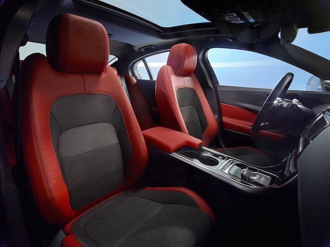 Jaguar XE Sitze