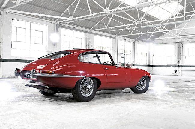 Jaguar XE Heritage E-Type - Coupé