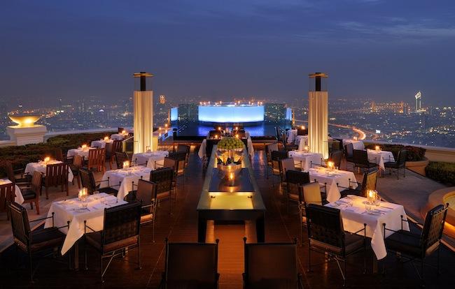 Tower Club at Lebua - Sirocco Restaurant