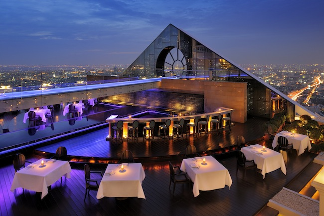 Tower Club at Lebua State - Breeze Restaurant