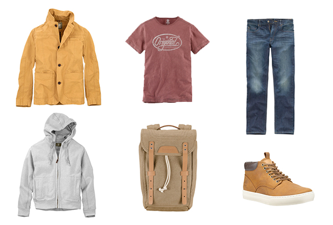 Timberland Herbst Look 2014