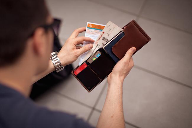 Boarding Pass / Visa Karte