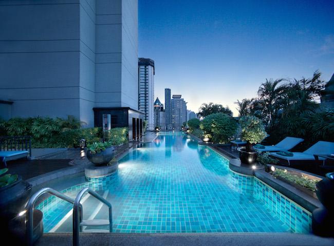 Banyan Tree Bangkok - Swimming Pool