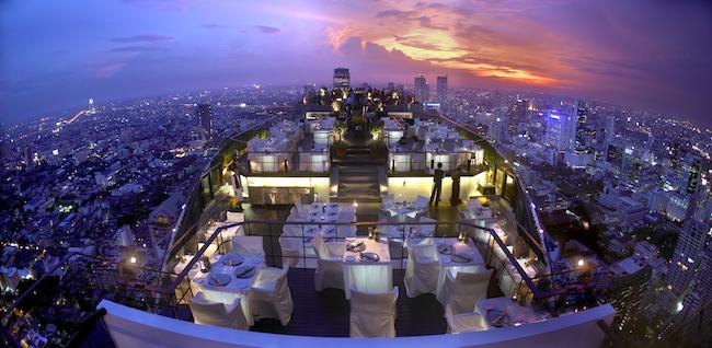 Banyan Tree Bangkok - Vertigo Restaurant