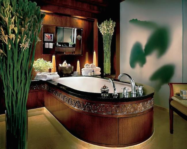 Four Seasons Bangkok - Deluxe Suite Badezimmer