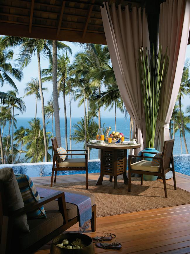 Four Seasons Koh Samui - Invilla Dining