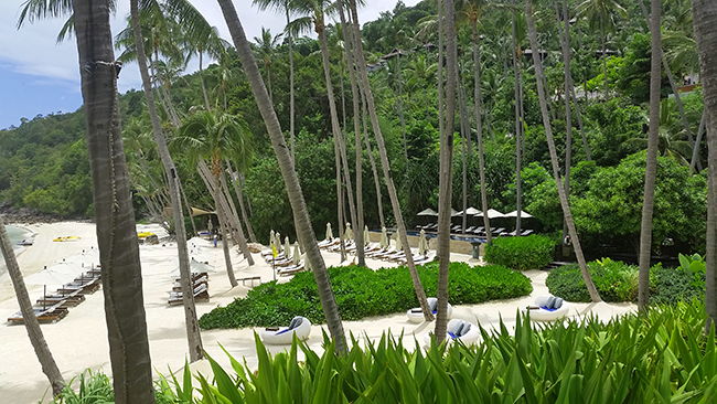 Four Seasons Koh Samui - Sandstrand