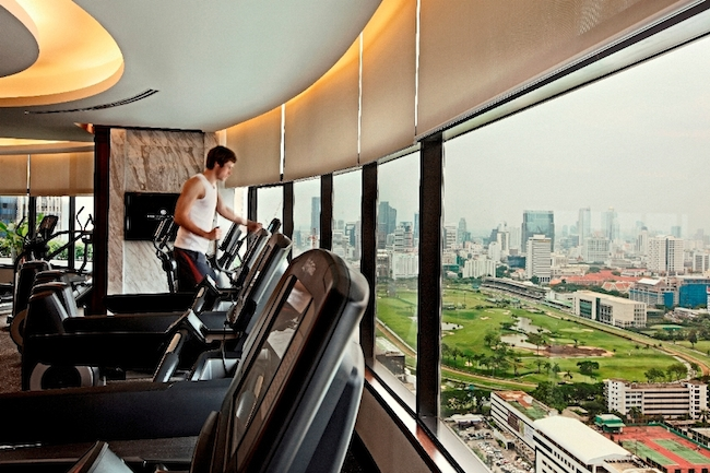 InterContinental Bangkok - Fitness-Studio