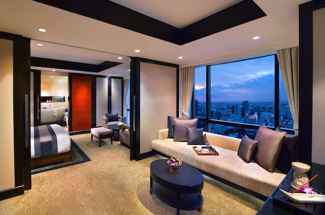 Banyan Tree - Room View - Bangkok