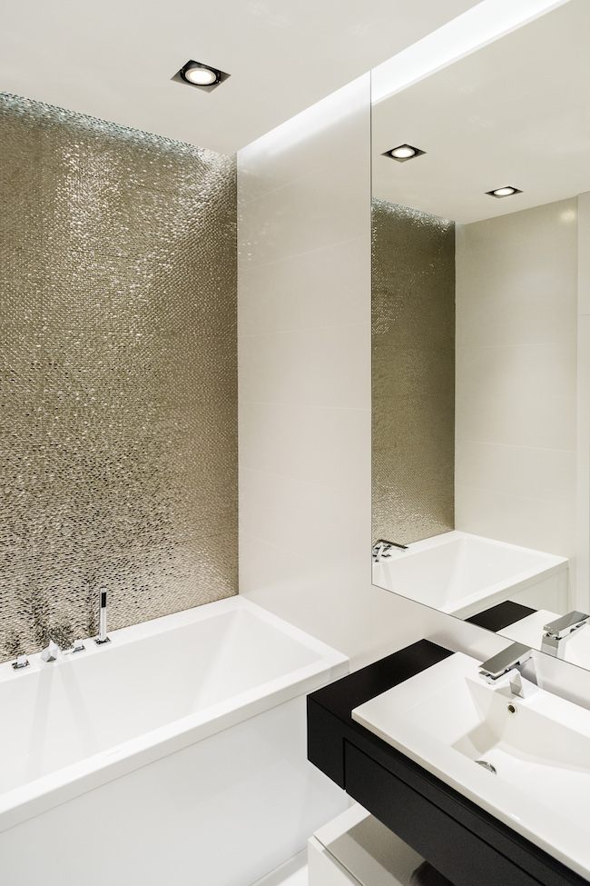 Singlewohnung / Appartment - Badewanne