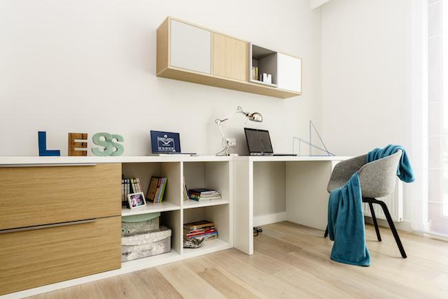 Singlewohnung / Appartment - Home Office Schreibtisch