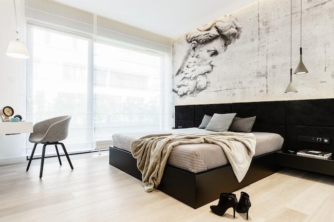Singlewohnung / Appartment - Schlafzimmer