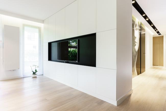 Singlewohnung / Appartment - Wohnwand