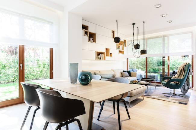 Singlewohnung / Appartment - Wohnzimmer