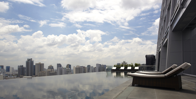 The Okura Prestige Bangkok - Pool View