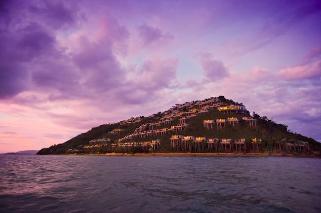 Conrad Koh Samui - Resort Hanglage