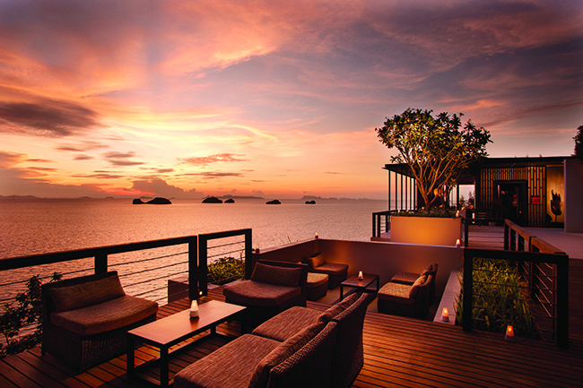 Conrad Koh Samui - Aura Lounge