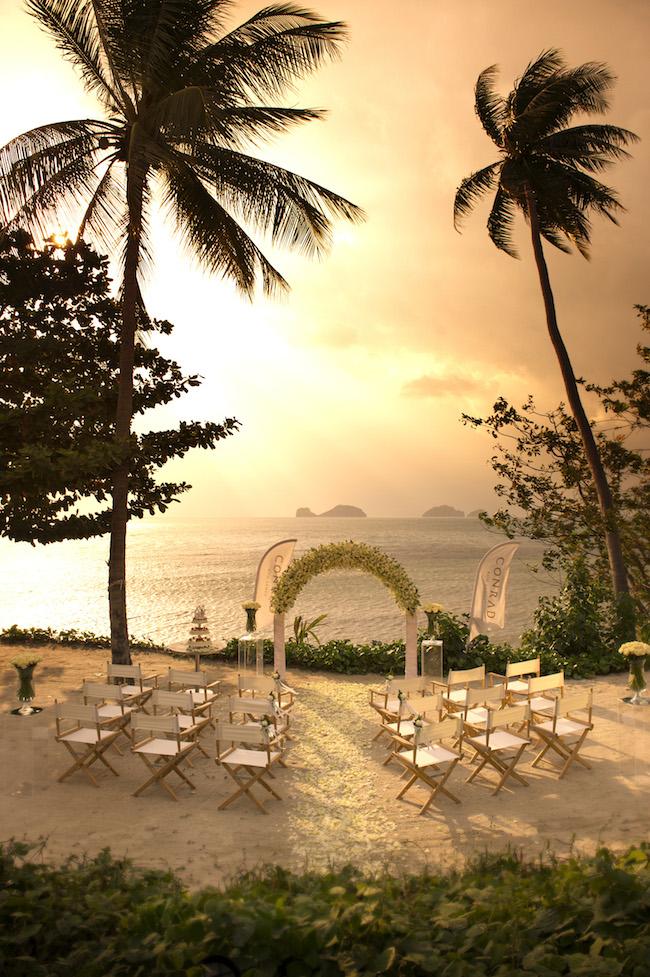 Conrad Koh Samui - Hochzeit und Trauung