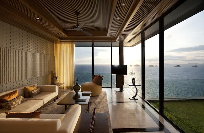 Conrad Koh Samui - Living Room