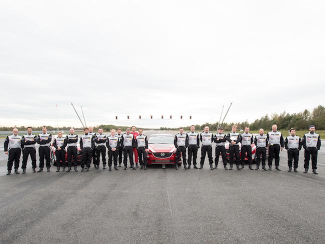 Mazda 6 - Das Weltrekord Team