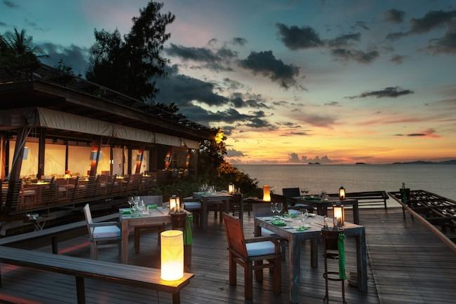 Dining on the Rocks - Six Senses Koh Samui