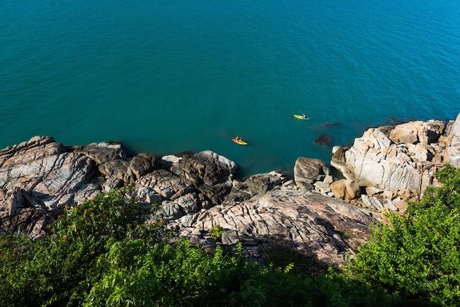 Six Senses Koh Samui - Wassersport Kayaking