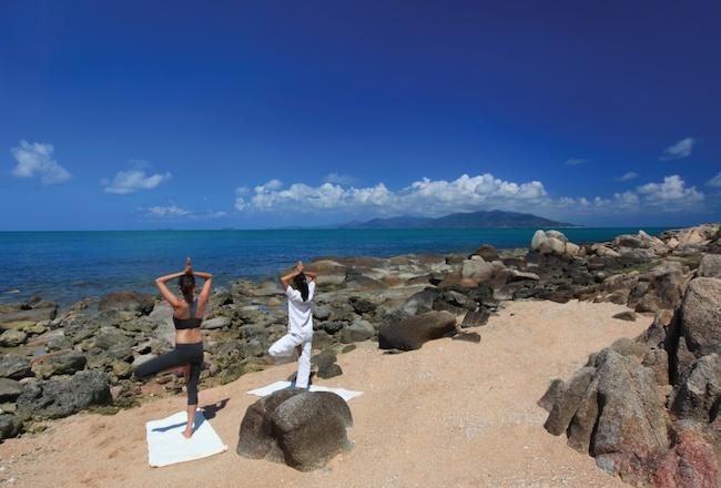 Six Senses - Yoga on the Rocks
